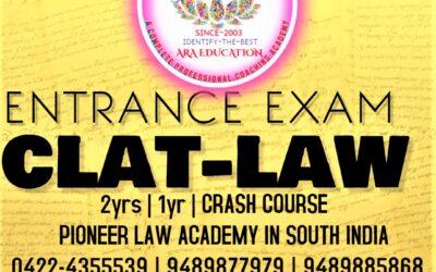 Best No 1 CLAT Coaching Classes in Coimbatore
